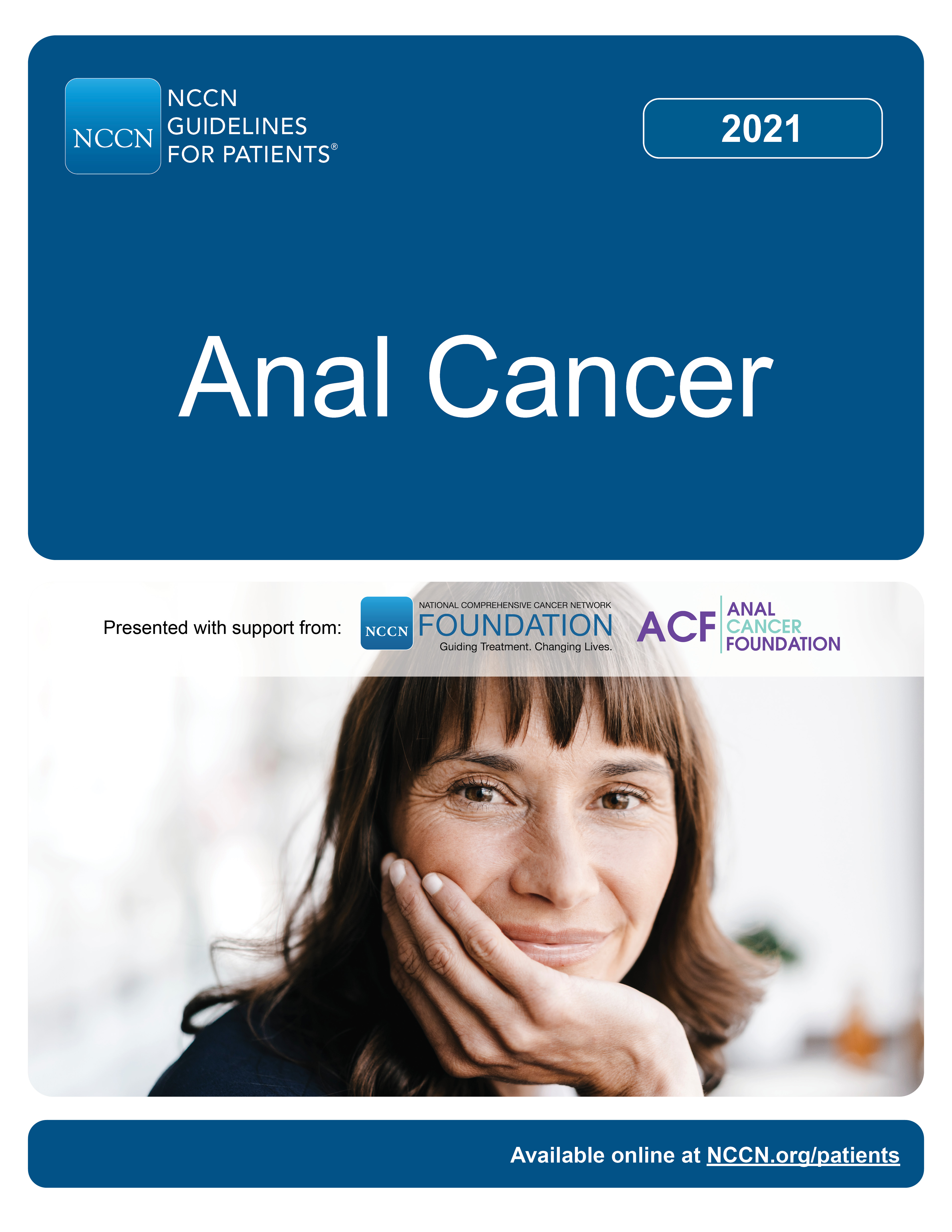 NCCN Guidelines for Patients: Anal Cancer