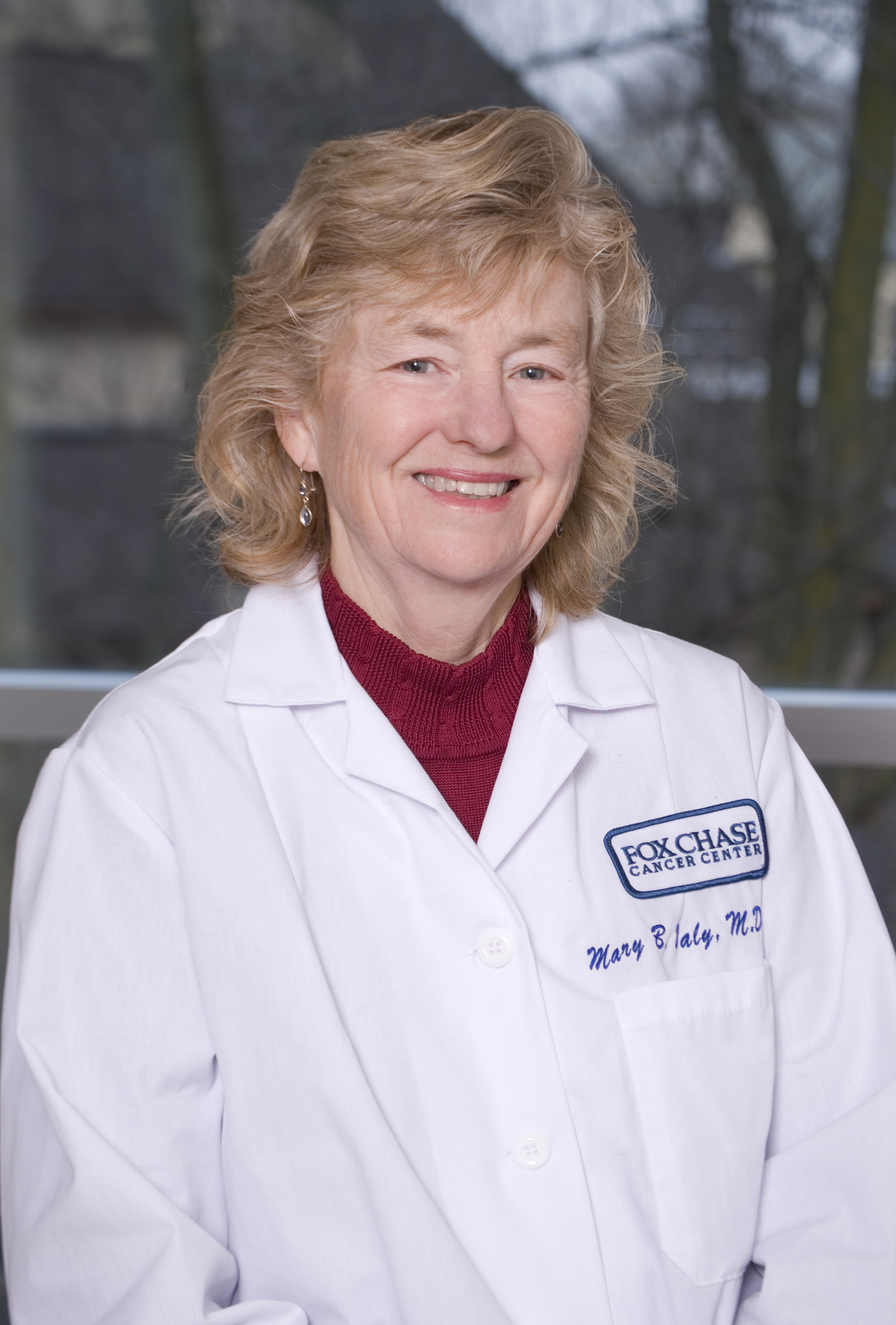 Mary B. Daly, MD, PhD, FACP, Professor in the Department of Clinical Genetics and Director of the Risk Assessment Program at Fox Chase Cancer Center